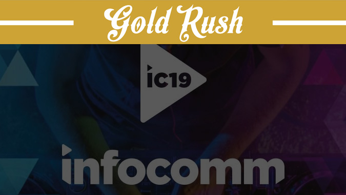 Stampede Gold Rush Digital Scavenger Hunt Returns to InfoComm 2019 with More Opportunities to Win!