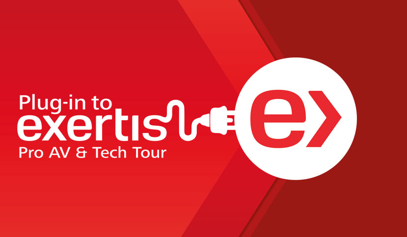 """Expanding """"Plug-in to Exertis ProAV & Tech Tour"""" Highlights Growing Range of AV, Broadcast, and Enterprise Solutions!"""